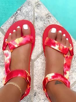 Summer Latest Style Beach Flat Sandals Women