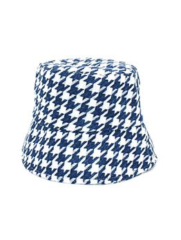 Houndstooth Fashion Autumn Trendy Bucket Hat