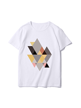 Pullover Multiple Triangle Comfort Colors T Shirts
