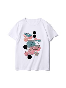 Basic T Shirt Colored Short Sleeve Women