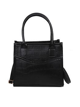 Fashion Pure Color Shoulder Handbag For Women