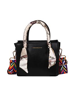 Street Scarf Colorful Belt Shoulder Bag Handbag