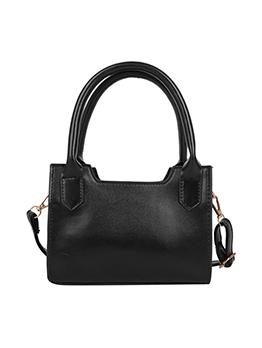 Casual Pure Color Shoulder Handbag For Women