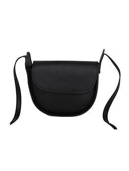 Simple Design Casual Pure Color Shoulder Bag