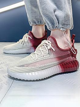 Gradient Color Casual Trendy Versatile Sneakers Men