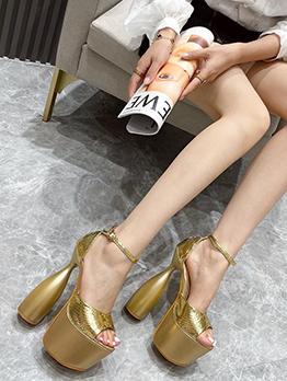 Night Club Solid Sexy Platform High Heels