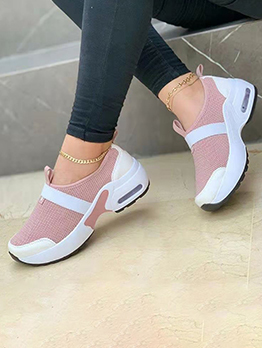 Outdoor Wedge Exercise Sneakers Shoes