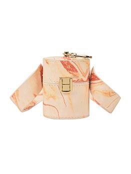 Fashion Printed Contrast Color Shoulder Bag