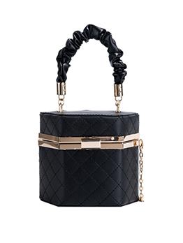Trendy Rhombus Lattice Chain Shoulder Handbag