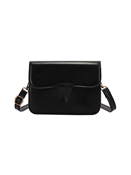 Casual Easy Matching Pure Color Shoulder Bag