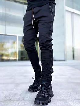 New Straight Pocket Reflective Jogger Pants