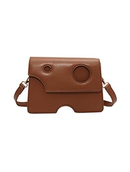 Chic Fashion Hasp Zipper Up Shoulder Bag