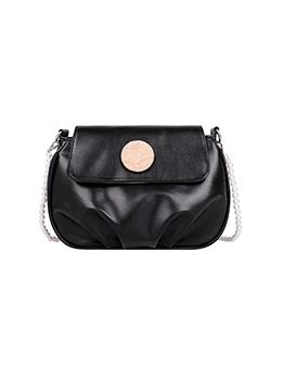 Trendy Fashion Hasp Soft Ruched Shoulder Bag