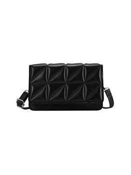 Trendy Solid Hasp Shoulder Bag For Women