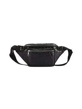 Versatile Sporty Vintage Printed Women Shoulder Bum Bag