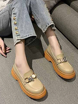 New Vintage Wedge Flats For Women