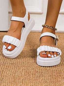 Roman Style Hollow Out Ladies Sandal