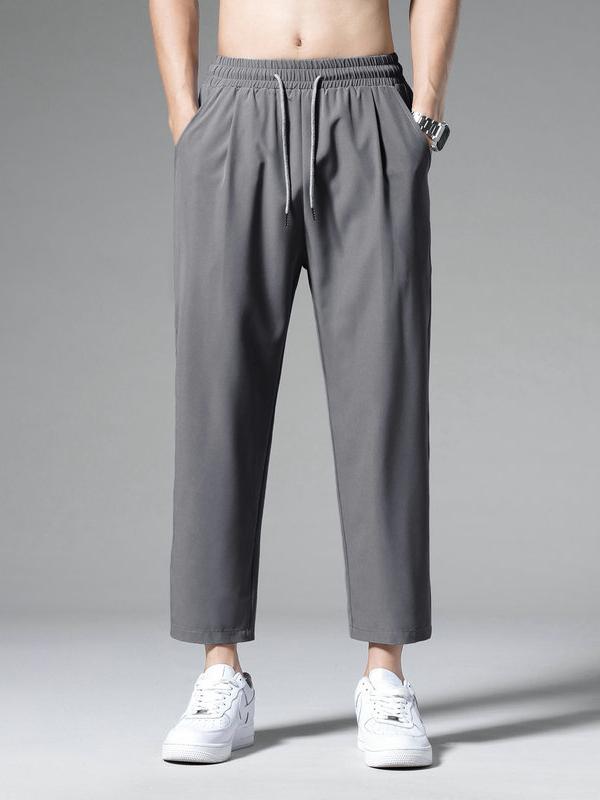 Fashion Casual Summer Long Sweat Pants Men