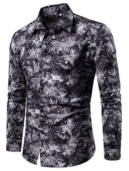 Fashion Men Casual Plus Size Autumn Shirts