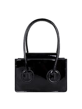 Korean Fashion Solid  Hasp Handbag For Women