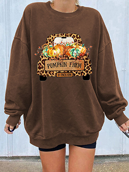 Wholesale Halloween Series Casual Fashion Sweatshirt