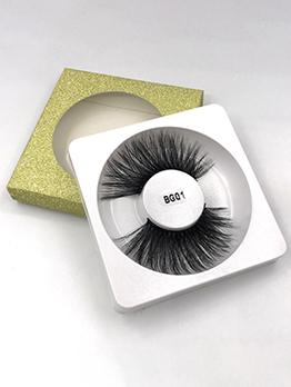 Exaggerated Solid 25mm Mink Fur False Eyelashes