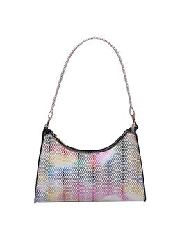 Chic Contrast Color Shoulder Handbag For Women