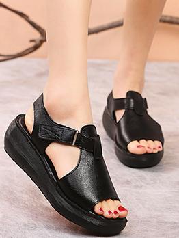 Roman Style Vintage Fashion Wedge Sandals Women