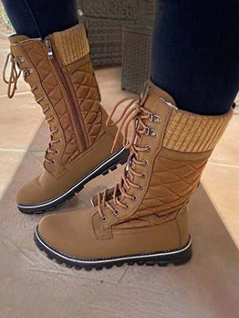 Latest Style Winter Warmth Plush Snow Boots