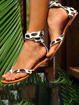 New Leopard Summer Sandals For Women