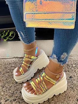 Summer Wedge Hollow Out Summer Sandals