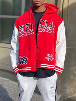Fashion Casual Hooded Collar Jacket Coat Men