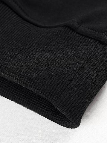 New Contrast Color Long Sleeve Sweatshirt