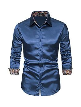 Autumn Patch Long Sleeve Shirts