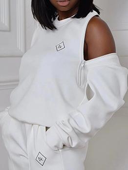Casual Fashion Autumn Plus Size Sweatshirt Women
