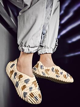 Latest Style Fashion Printed Slip On Shoes