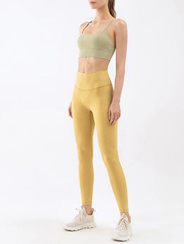 Jogging Yoga Cropped Bra Top And Legging Sets
