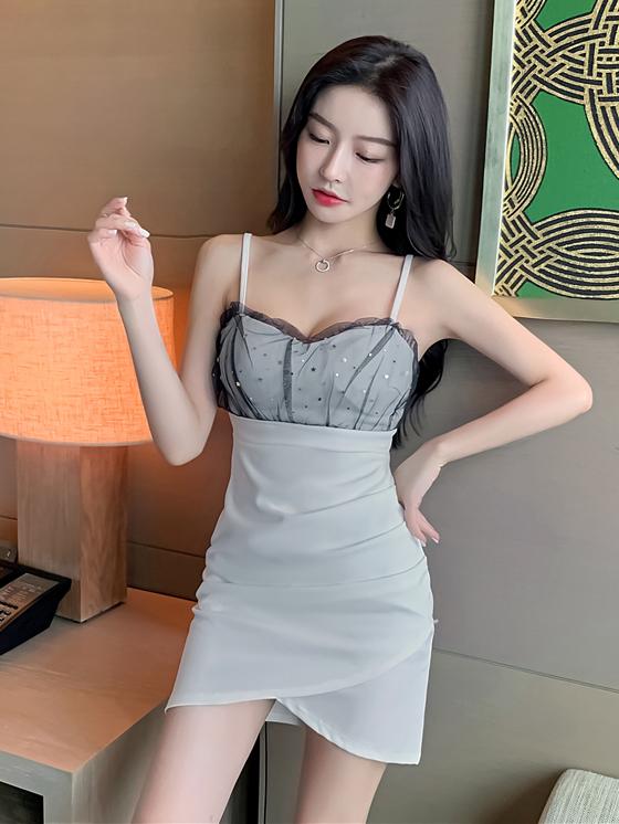 Seductive Spaghetti Strap Backless Bodycon Sleeveless Dress