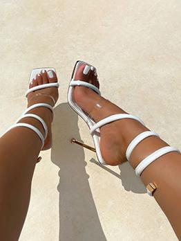 New Snake Print Sandals For Women