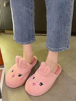 Adorable Cute Cartoon Home Wear Mules Shoes
