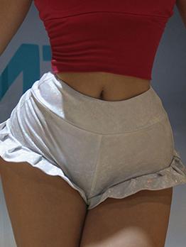 Sexy Stringy Selvedge Mini Short Skinny Pants