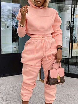 Autumn Hoodie Workout Clothes For Women