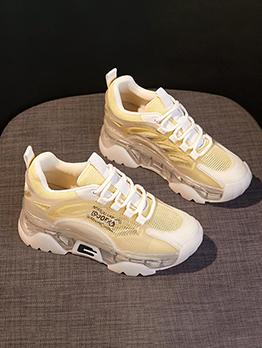 New Gauze Wedge Increased Sneaker
