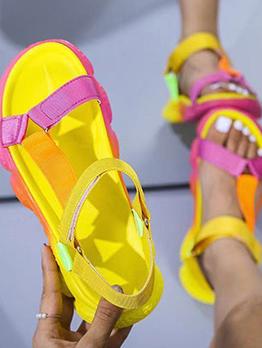 Fashion Round Toe Comfort Women Sandals