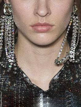 Temperamental Rhinestone Long Earring For Women