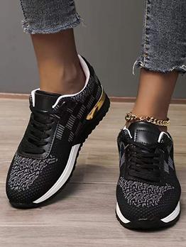 Sporty Versatile Lace Up Men Sneakers