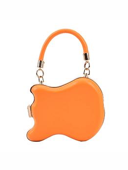 Chic Solid Printed Handbag For Women