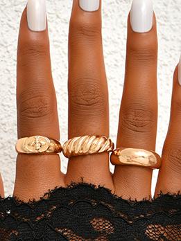 Unique Simple Golden Rings For Women