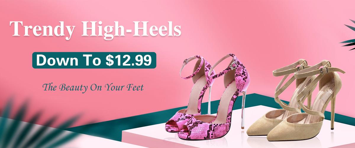 Trendy High-Heels