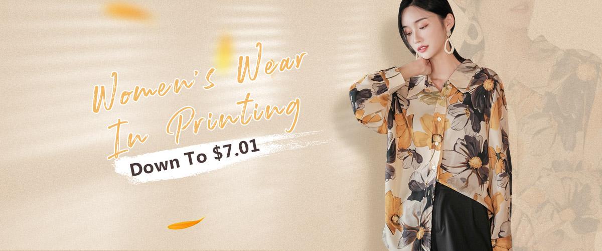 Women's Wear In Printing